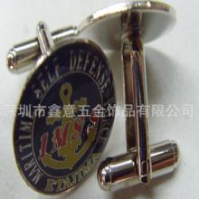 金属袖扣袖扣厂家定制定制金属袖扣铜质烤漆袖扣