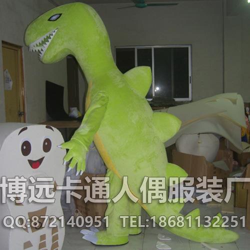 来图定制卡通道具服装动物模型卡通人偶恐龙长颈鹿