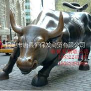 华尔街铜牛图片