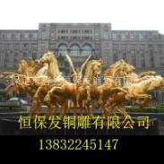 铜雕马图片