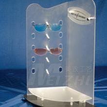 眼镜展示架 按需制作各种亚克力眼镜展示架 高档有机玻璃3D数码眼镜展示架
