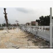 芝麻白石材栏杆图片