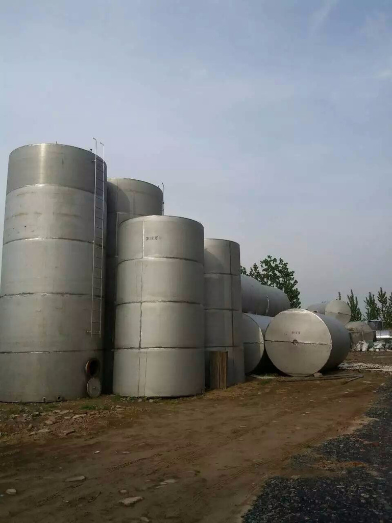 济宁现有10台10立方不锈钢储罐    梁山现有10台10立方不锈钢储罐出售