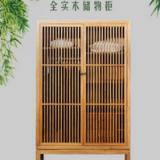 衣柜 储物柜 实木两门简易衣橱 整体组合木质中式家具