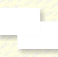 全新ABS材料白卡 环保耐高温材料白卡 ABS白卡
