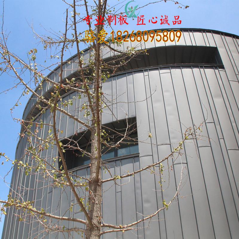 YX25-330/430型钛锌合金直立锁边板 钛锌板生产厂家