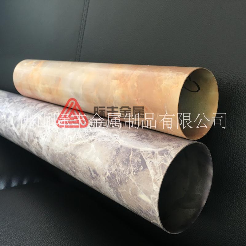 防晒防腐不锈钢黄花梨木纹工艺管