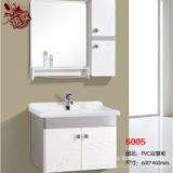 现货 家居高密度挂墙吊柜 PVC浴室卫浴柜 现代简约双门镜柜