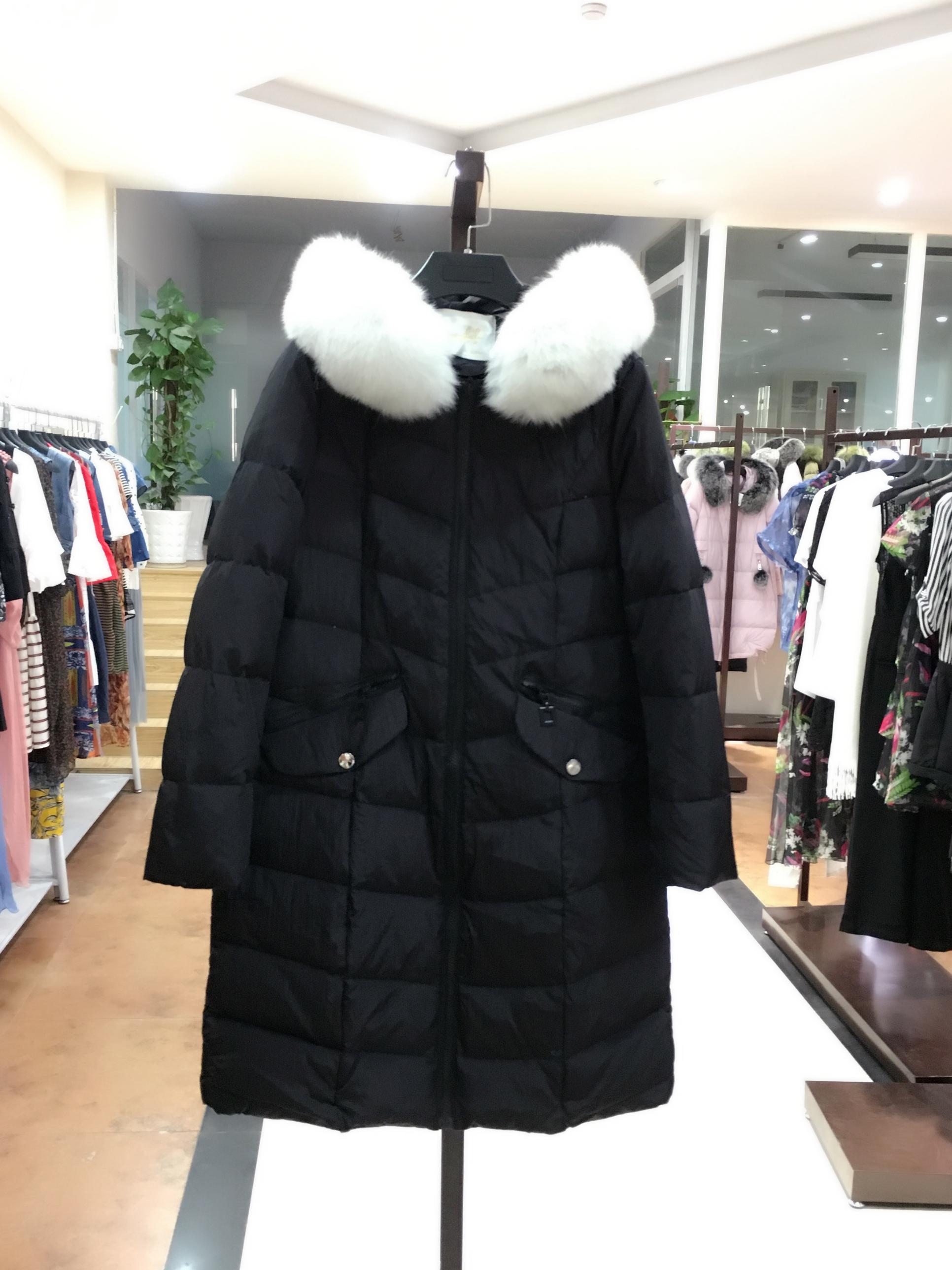 米可  高端女装品牌折扣批发走份尾货低价羽绒服厂家直销女装店一手货源