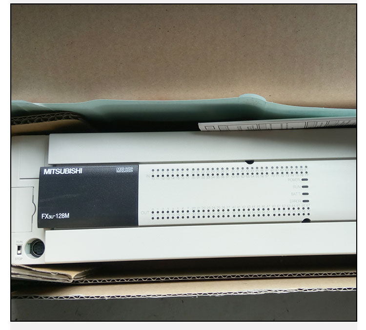 三菱plc fx3u-128m原装伺服电机高速通信口可编程控制器