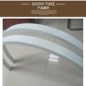 西安弧型铝方通厂家定制图片
