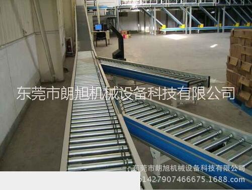 重轻型滚筒输送设备朗旭机械设备厂家专业定做无动力滚筒线等