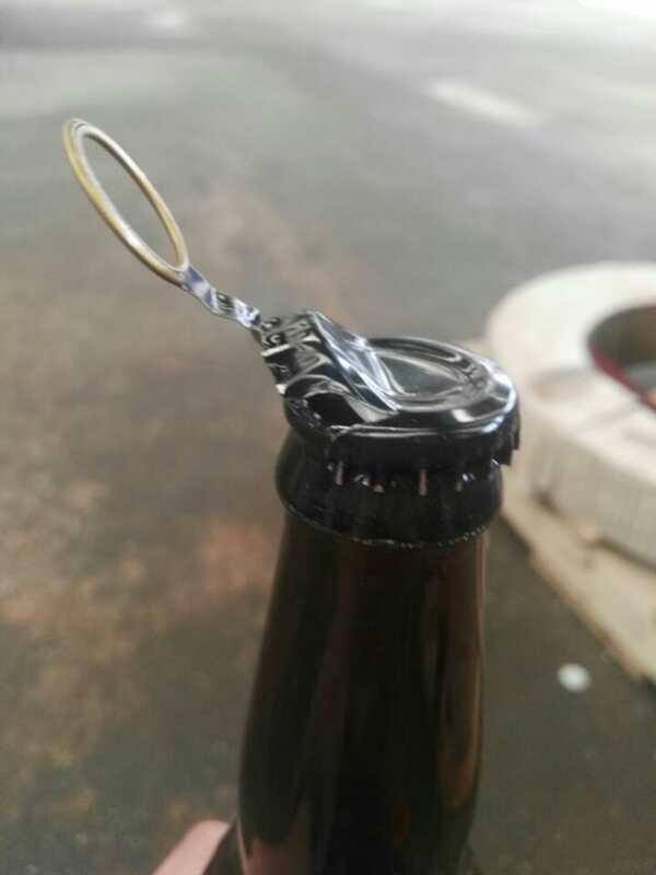 易拉式啤酒瓶盖