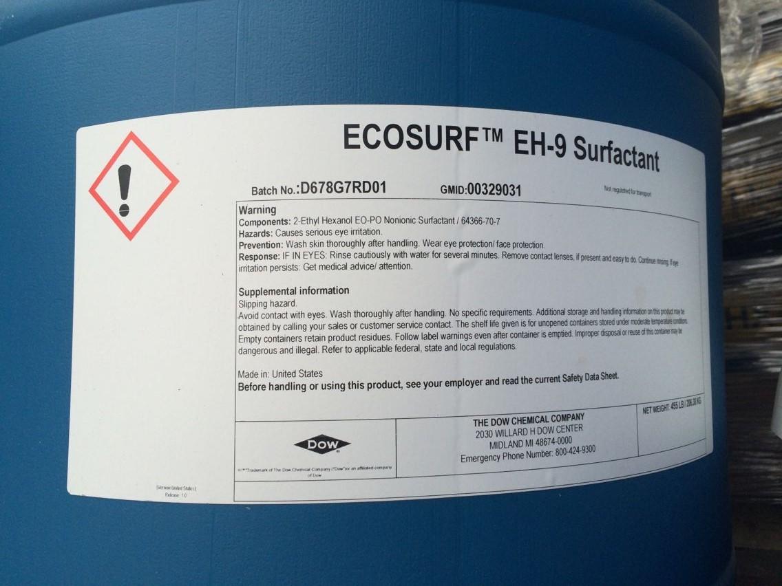 美国陶氏非离子表面活性剂 ECOSURF EH系列
