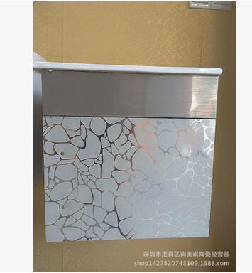 厂家直销60公分不锈钢浴室柜 时尚简约现代不锈钢浴室柜 挂墙浴柜