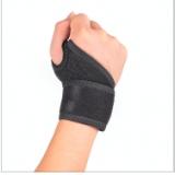 东莞护具生产厂家绑带缠绕护腕运动加压健身单杠助力举重力量健美训练护腕 护具生产厂家护腕运动护具
