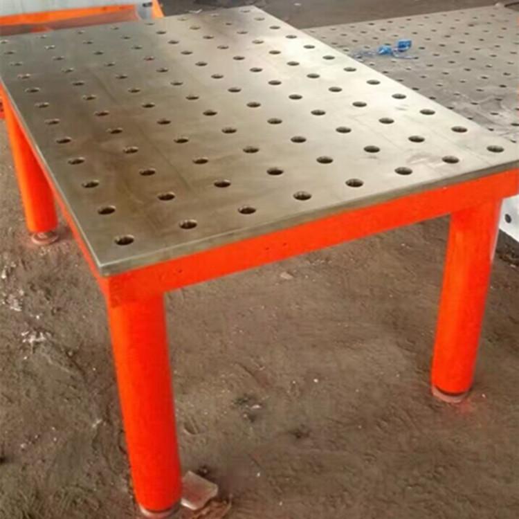 建丰SW 1500精度三维焊接平台及配套工装夹具多功能多孔焊接平台