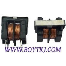 供应插件共模滤波器UU10.5-10MH共模电感器厂直销 立式磁环电感 价格低 品质优