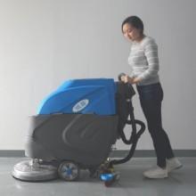 深圳市火车站用手推式洗地机YZ-530 依晨手推式单刷洗地机