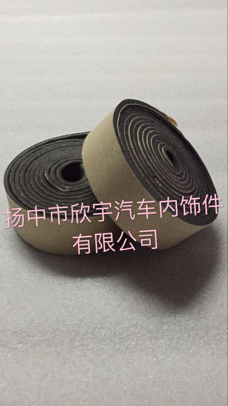 厂家直销聚乙烯EVA海绵自粘胶条 PU海绵自粘条 PE海绵自粘条