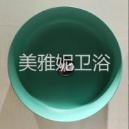 哑光陶瓷洗手盆图片