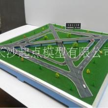 交织型立交桥模型