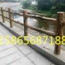 湖北仿木栏杆造景图片