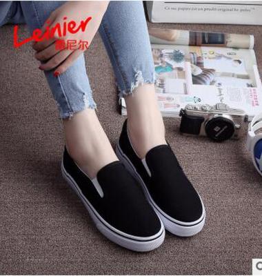 纯色帆布鞋图片/纯色帆布鞋样板图 (4)