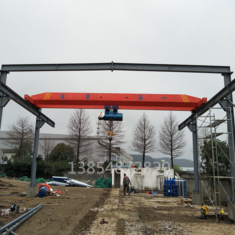 厂家直销电动单梁起重机3吨桥式行车出口5吨单梁行吊