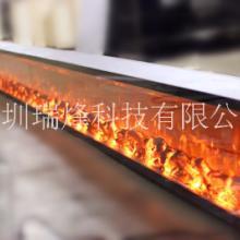 定制壁炉两面 三面 四面观火壁炉 异型 圆型 弧形壁炉定做批发