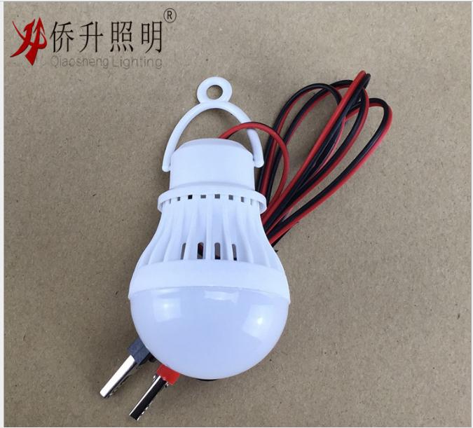 厂家直销 3W低压吊线LED球泡灯12V吊线灯低压灯 诚招代理