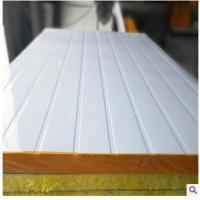 厂家批发 彩钢夹心板 玻璃棉夹芯彩钢板 防火保温隔墙板 包送货