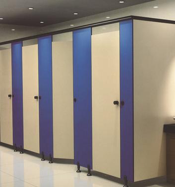 厂家直销卫生间隔断公共厕所隔间抗倍特板