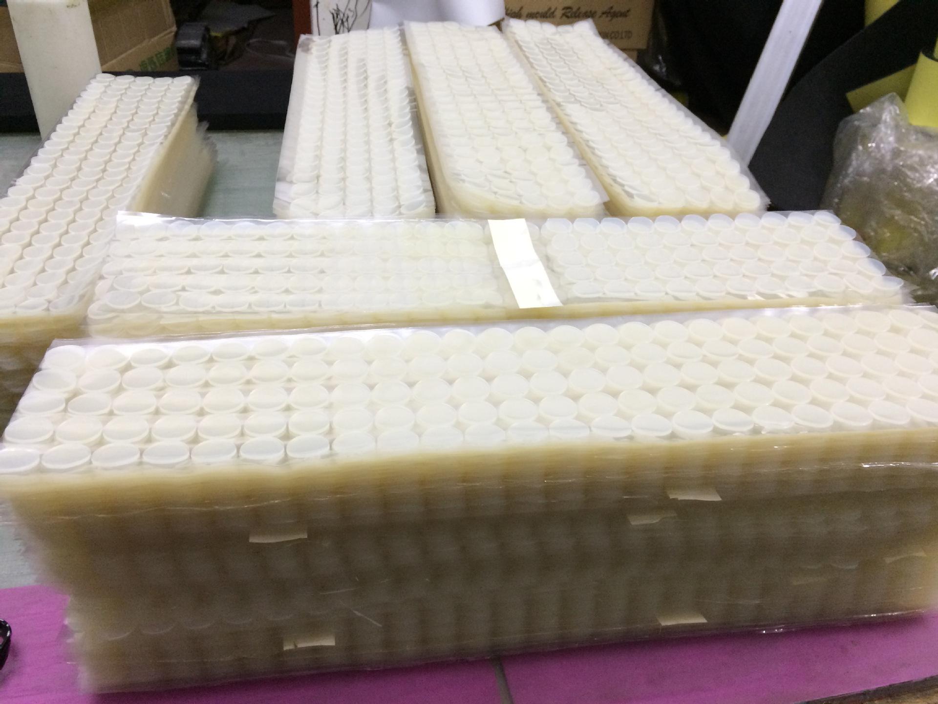 热销透明硅胶脚垫 硅胶垫片防滑防震硅胶橡胶垫3M背胶硅胶脚垫定制