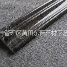广西白大理石异形柱 广西天然大理石线条 广西定制白天然线条