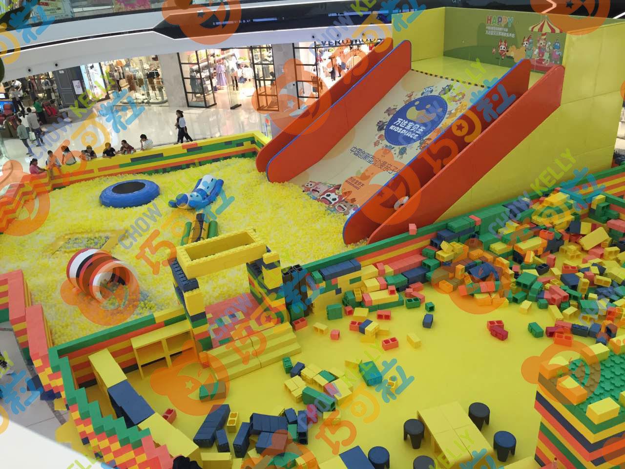 韩国进口EPP材料大型儿童积木乐园巨型积木王国出售 EPP积木乐园