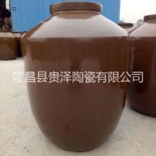 土陶坛子 700斤土陶瓷酒坛 陶