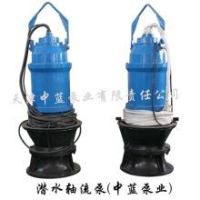 天津中蓝大口径不阻塞潜水混流泵