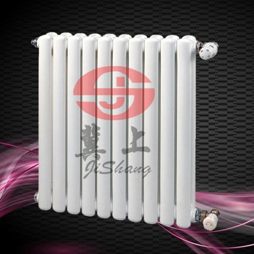 钢二柱暖气片批发价格 钢二柱暖气片 钢制柱型暖气片-冀上采暖 钢制二柱