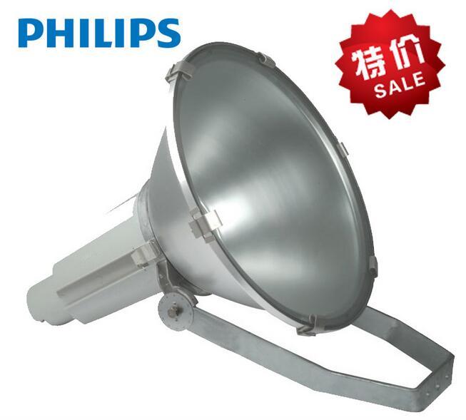 飞利浦投光灯HNF020 250圆形聚光投光灯 羽毛球 篮球场照明灯具