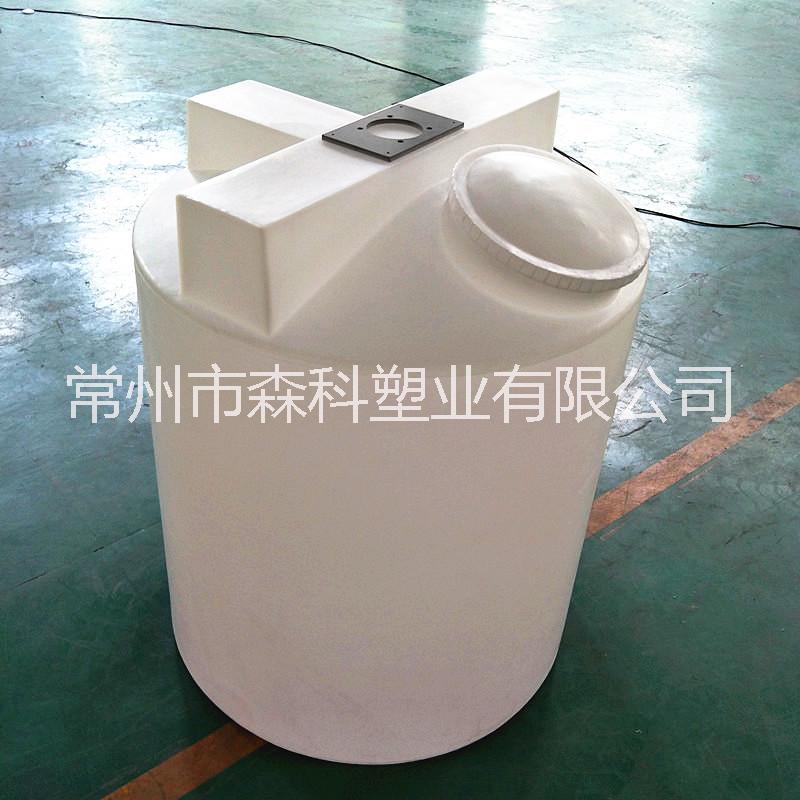 1吨加药箱 1000L加药搅拌桶 圆形1000lpac pam溶药箱 洗洁精搅拌桶