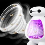 卡通大白灭蚊灯新款诱蚊灯婴儿家用光触媒电子灭蚊器