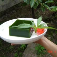 绿色豆腐面条