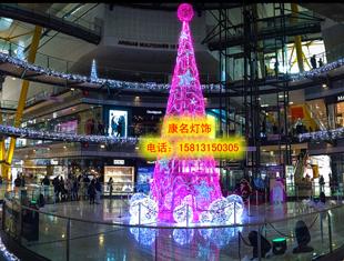圣诞造型灯 雪花灯树灯 驯鹿造型图片