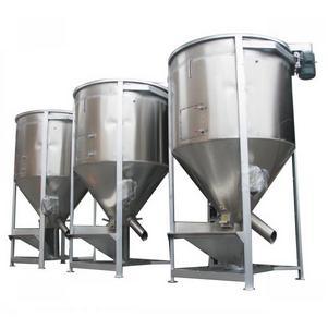 江苏搅拌机苏州搅拌机混料机不锈钢螺杆上料机500公斤搅拌机