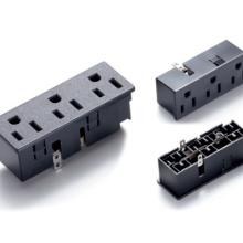 SS-6B-3 美式三联插座 美标卡入式电源插座  美规嵌入式电源插座批发