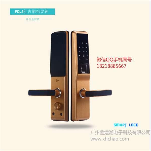 指纹密码锁图片/指纹密码锁样板图 (2)