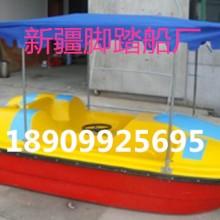 新疆玻璃钢游船新疆乌鲁木齐玻璃钢脚踏船手划船渔船生产厂家