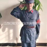 苏维红红军服,八路军演出服,红军抗战服装红卫兵服饰舞蹈军装表演衣