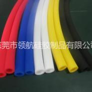 进口料高透明彩色硅胶管图片